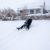 Endlich Winter - Zeit zum Schlittenfahren